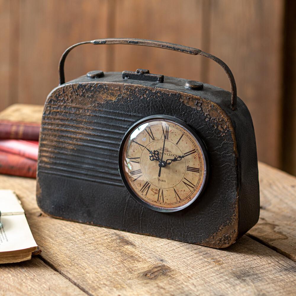 Vintage Inspired Radio Table Clock