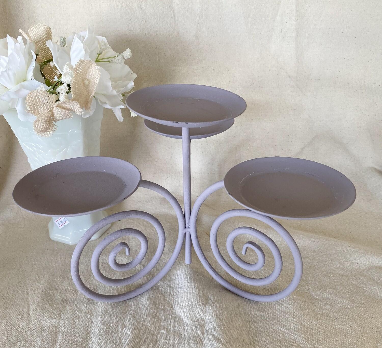 Lavender 4 Candle Candelabra