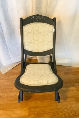 Vintage Folding Nursing/Sewing Rocking Chair