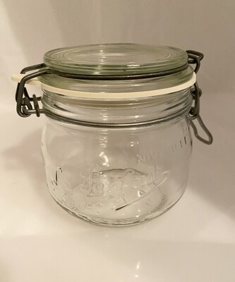 Le Parfait Super French Hermetic Jar 1/2 Liter