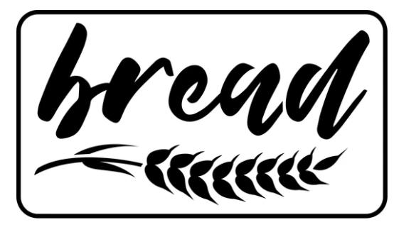JRV Bread Stencil