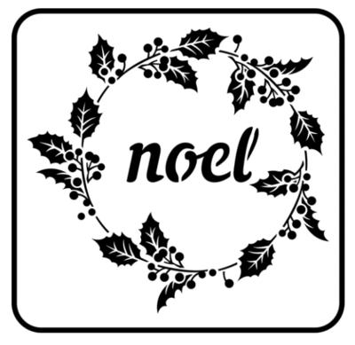 JRV Noel Stencil