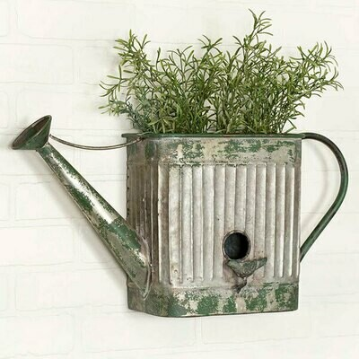 Watering Can Wall Planter