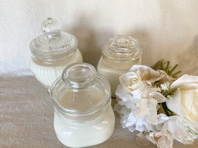 Vanilla Soy Apothecary Jar Candles