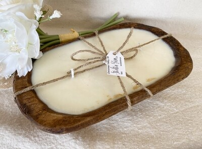 Natural Dough Bowl Soy Wax Candles
