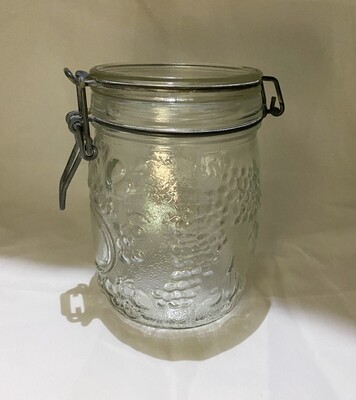 Wheaton Hermetic Fruit Embossed Jar 3/4L