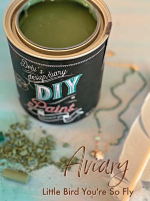 DIY Paint Aviary (Farmhouse Green)