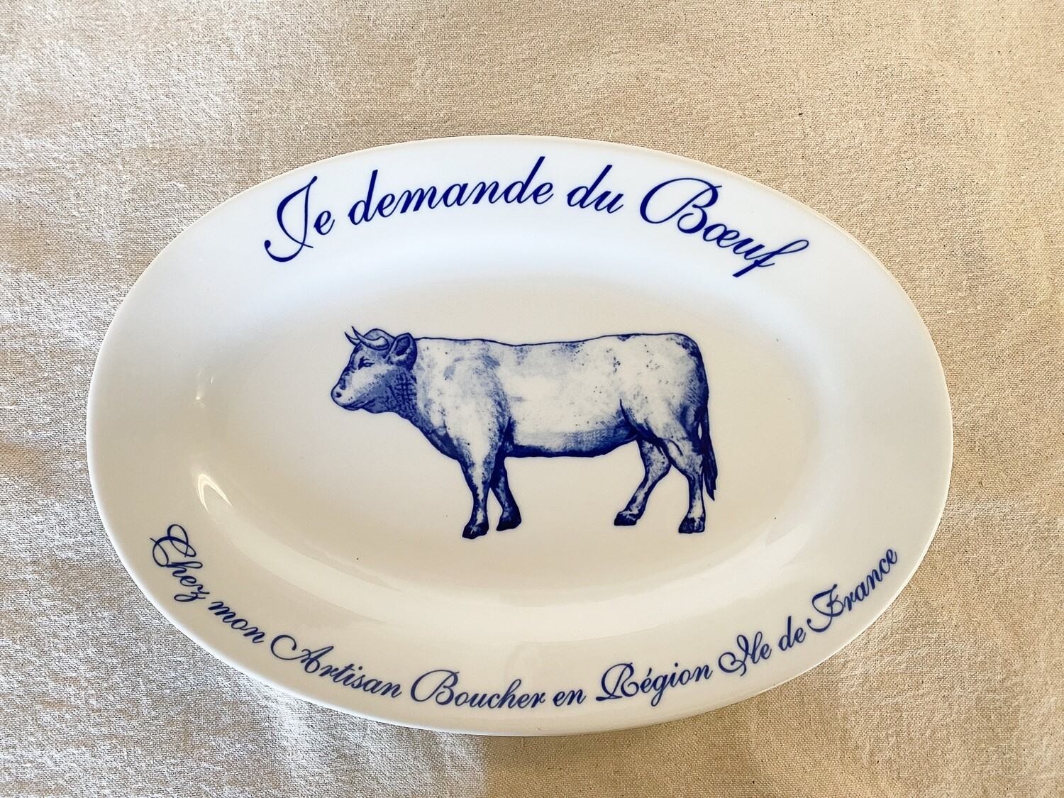 Williams-Sonoma Je Demande Du Boeuf Platter