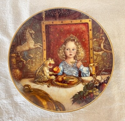 Knowles Scott Gustafson Porcelain Plate - The Frog Prince