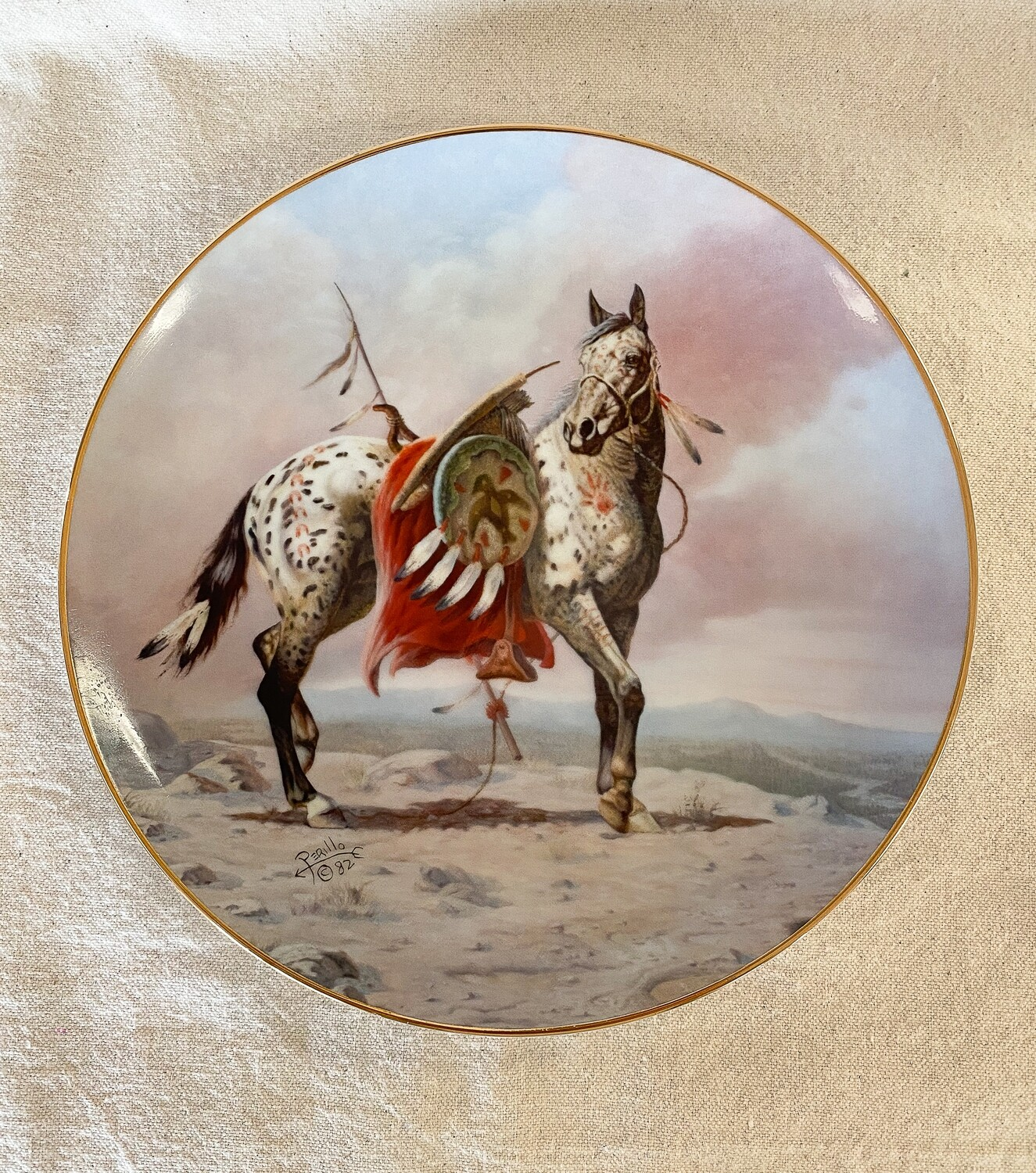 Nez Perce War Pony by Perillo