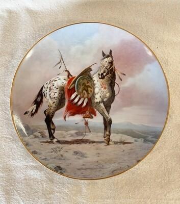 Nez Perce War Pony by Perillo