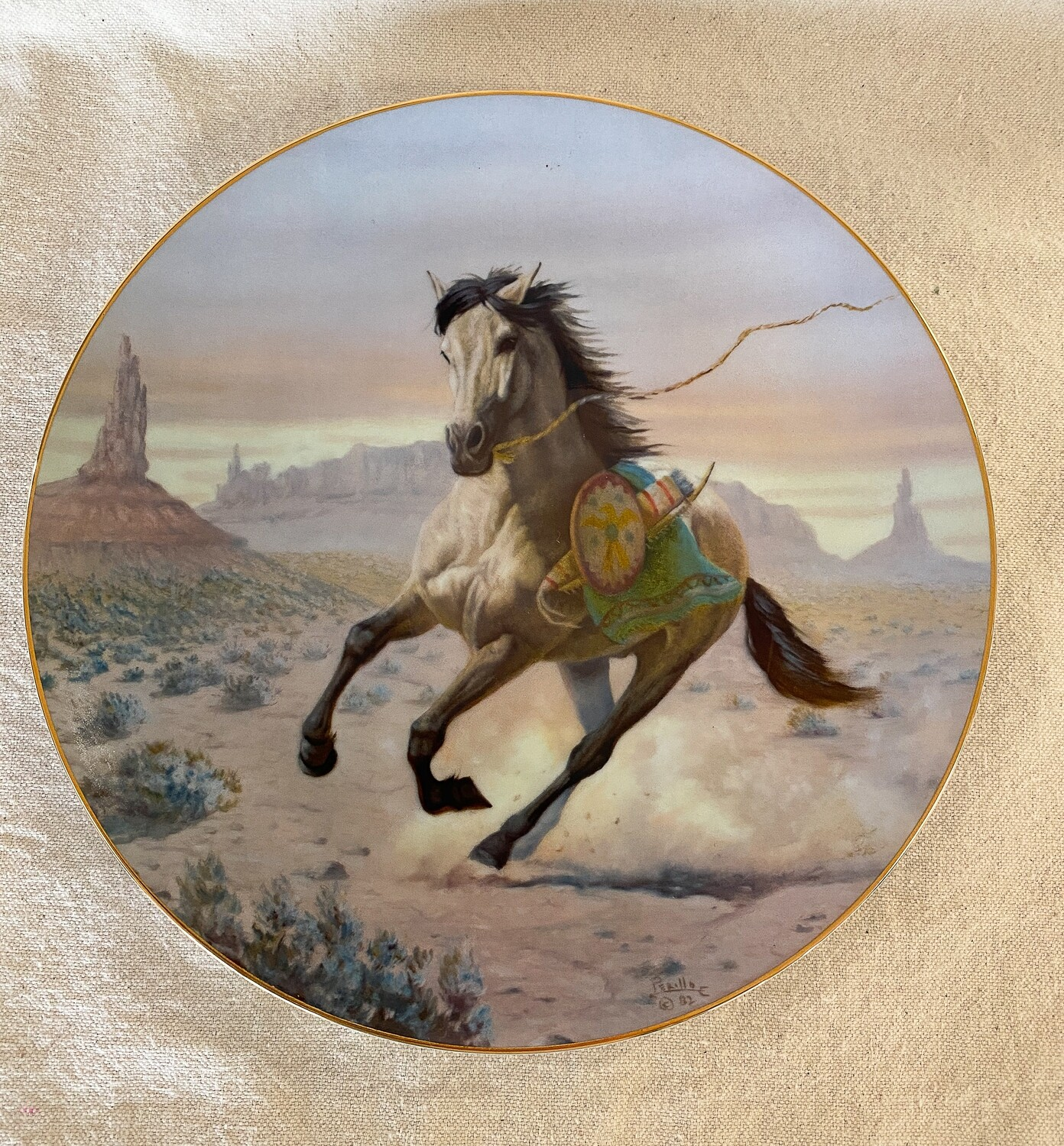 Apache War Pony by Perillo