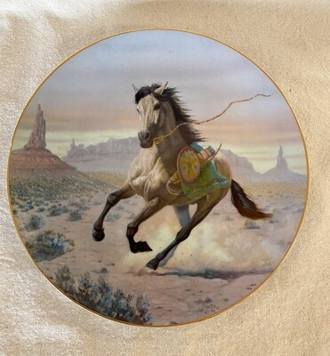 Apache War Pony by Perillo
