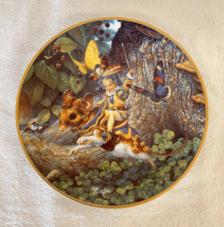 Knowles Scott Gustafson Porcelain Plate - Tom Thumb