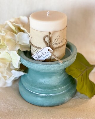 Chunky Green Candlestick