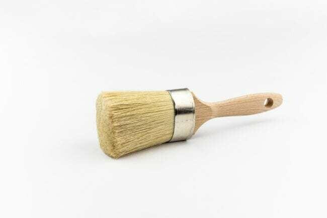 "MudPaint Natural Bristle 2"" Paint Brush"