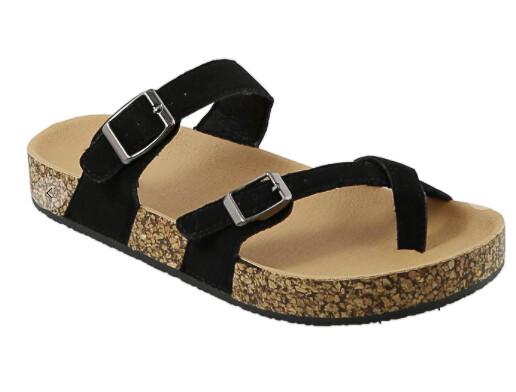 Top Moda Black Sandals