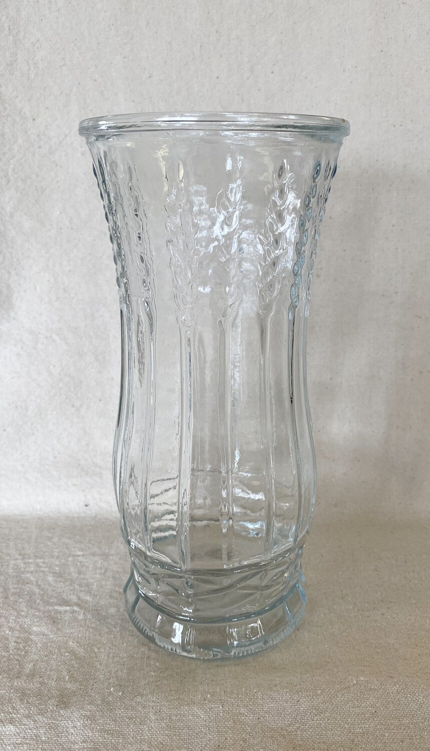 Brody Co Wheat Stalk Glass Vase