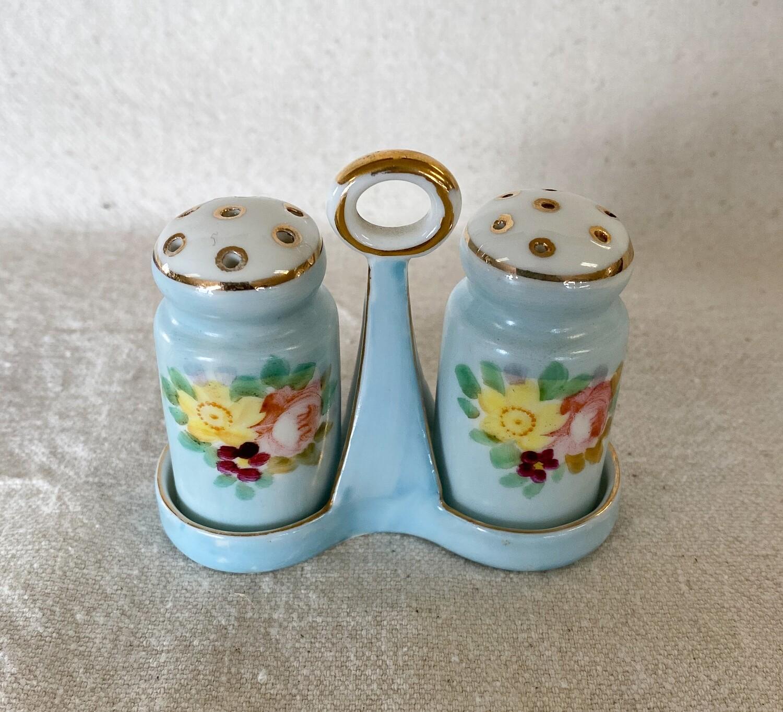 Noritake Hand Painted Salt & Pepper Skaker Set