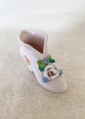 Miniature Porcelain Shoe Germany