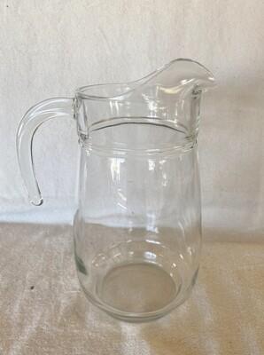 Clear Glass Pitcher 72oz