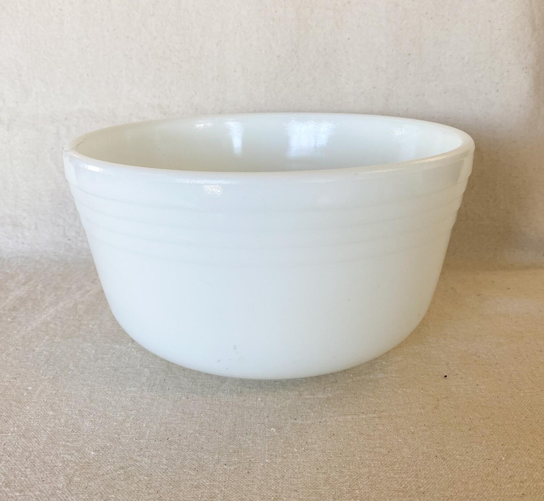 Hamilton Beach Milk Glass Mixing Bowl