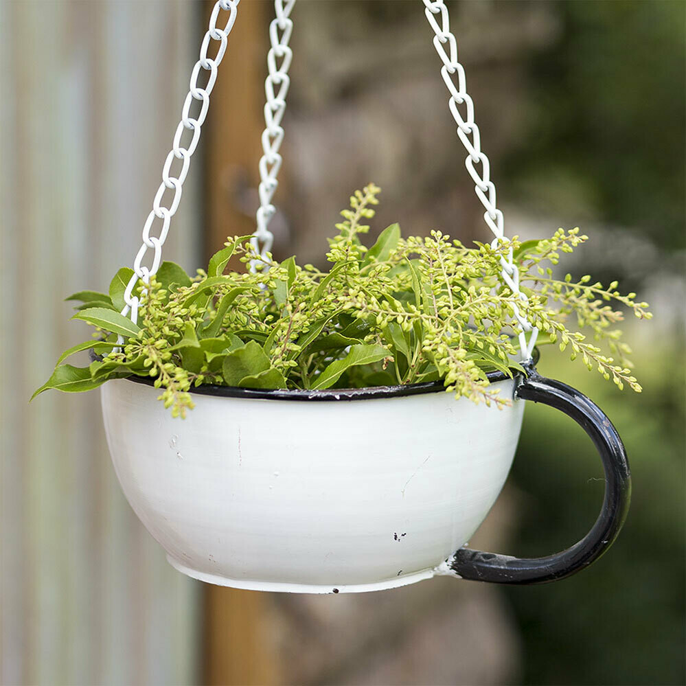 Tea Cup Hanging Planter