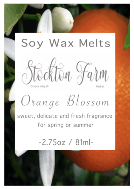 Orange Blossom Soy Wax Melts