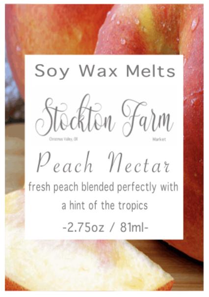 Peach Nectar Soy Wax Melts