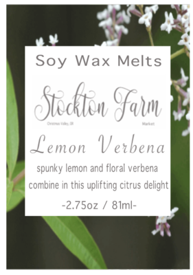 Lemon Verbena Soy Wax Melts