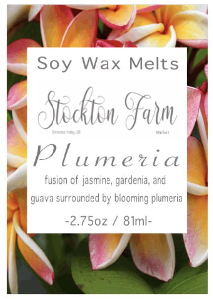 Plumeria Soy Wax Melts