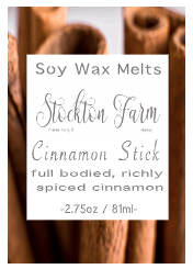 Cinnamon Stick Soy Wax Melts