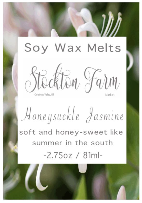 Honeysuckle Jasmine Soy Wax Melts
