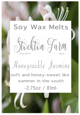Honeysuckle Jasmine Soy Wax Melts