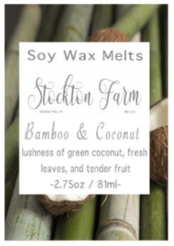 Bamboo & Coconut Soy Wax Melts