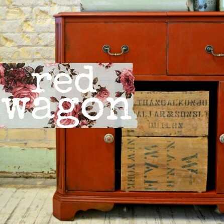 Sweet Pickins Milk Paint 6oz - Red Wagon