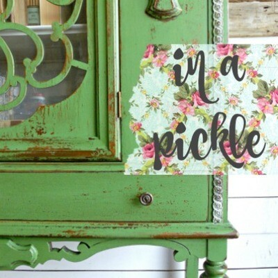 Sweet Pickins Milk Paint 6oz - In a Pickle