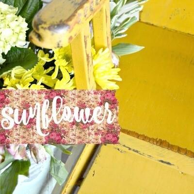Sweet Pickins Milk Paint 6oz - Sunflower