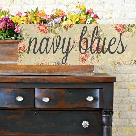 Sweet Pickins Milk Paint 6oz - Navy Blues