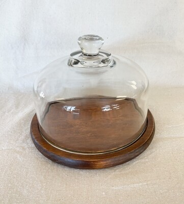 Wood Cheese Cloche