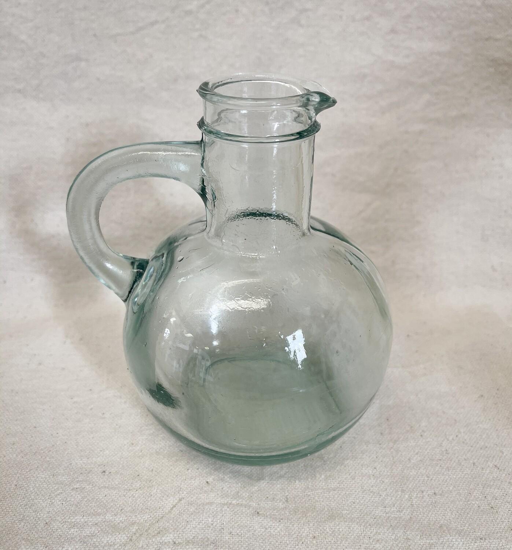 Green Glass Oil Bottle 14oz