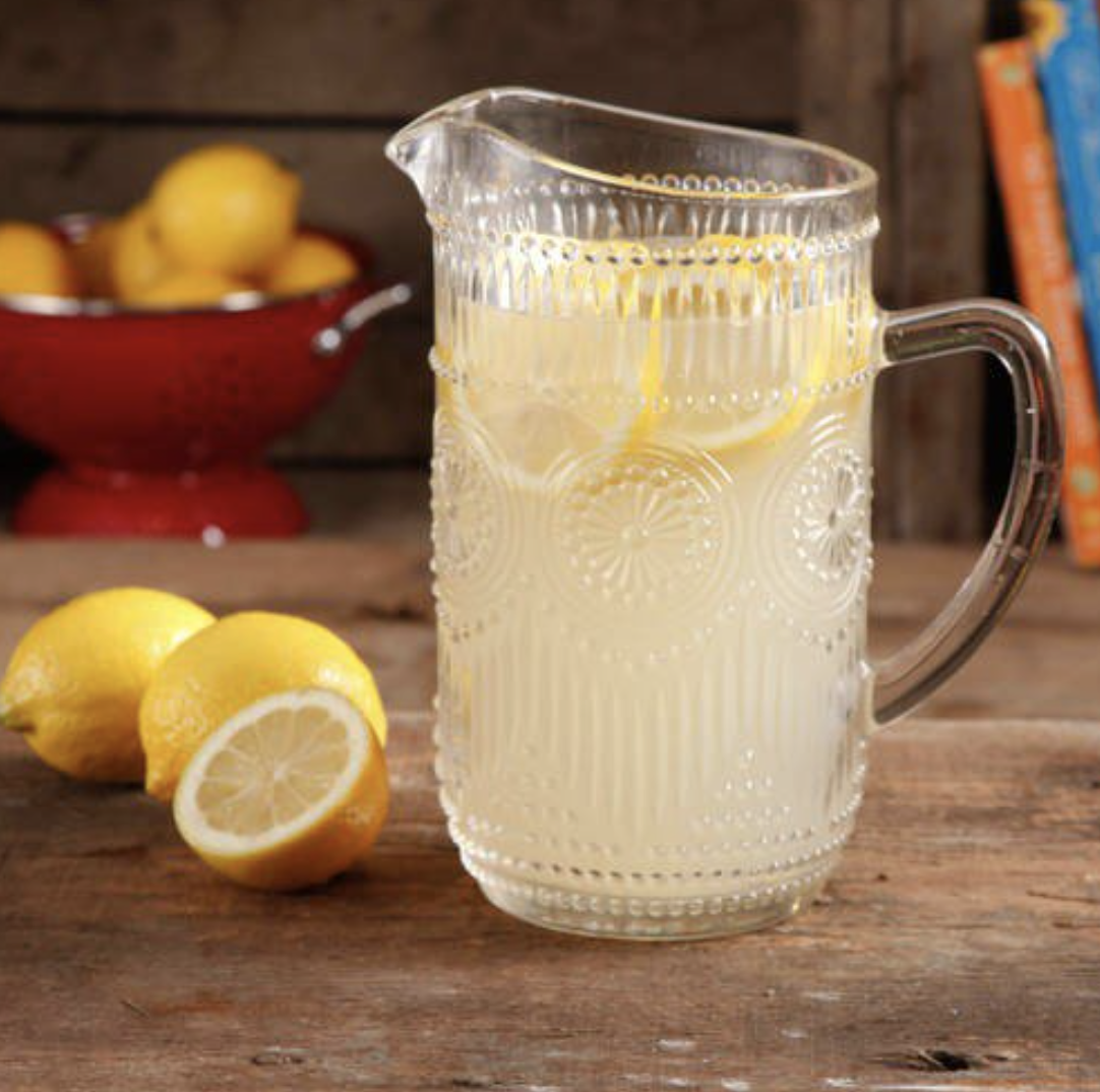 The Pioneer Woman Adeline 1.59-Liter Glass Pitcher