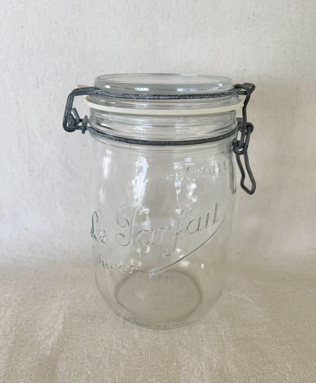 Le Parfait Super French Hermetic Jar 1 Liter