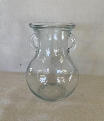 Glass Handled Vase