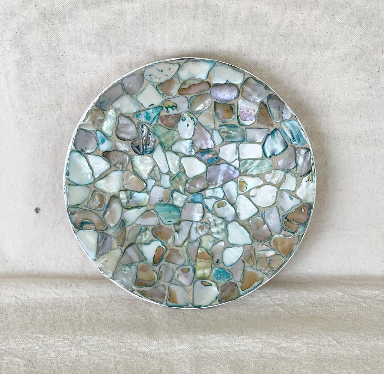 Mosaic Shell Trinket Dish
