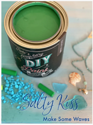 DIY Paint Salty Kiss (Emerald Green)