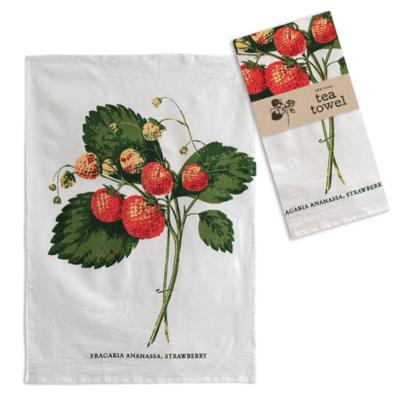 "Strawberries Tea Towel 20"" x 28"""