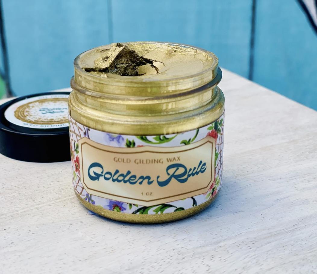 DIY Golden Rule Guilding Wax