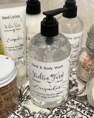 Lavender Hand & Body Wash 12oz