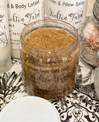 Brown Sugar Body Scrub 8oz - Lavender